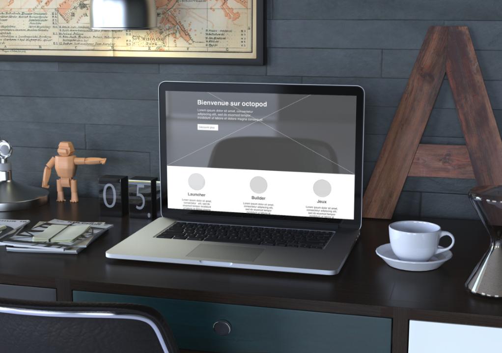 Octopod:Web, visibilité et site web salles d'arcade VR