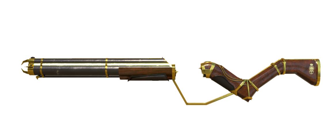 rendu arme 3D