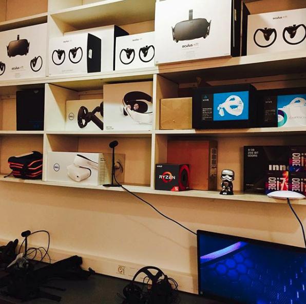 matériel VR