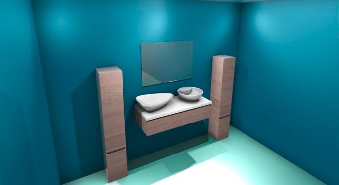 configurateur 3D salle de bain avec rendu HD