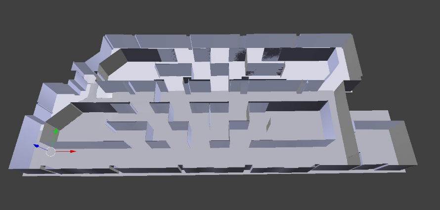modélisation murs 3D VR