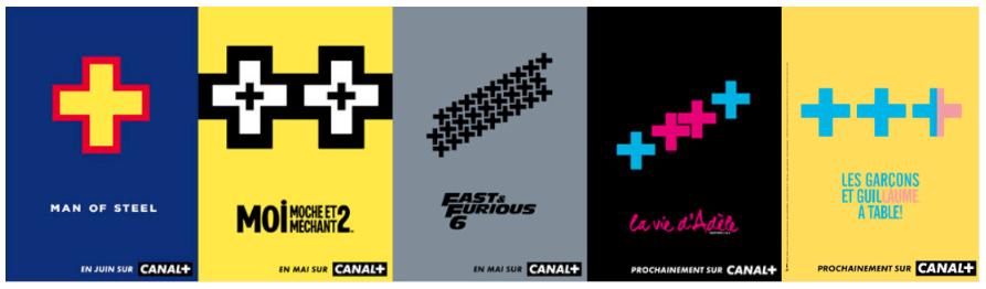 revisite affiche cinéma par canal